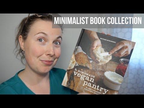 Minimalist Book Collection | Vegan Cookbooks