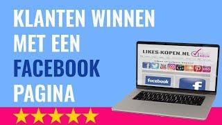 Meer klanten via Facebook winnen