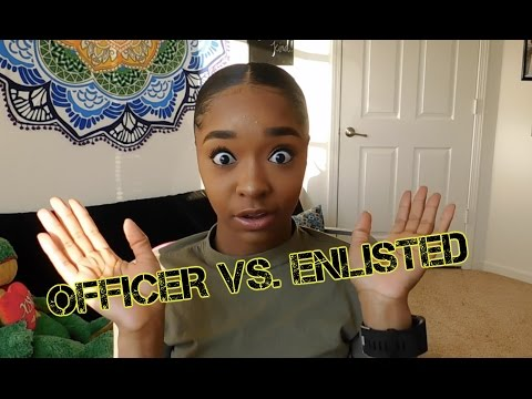 ARMY OFFICER VS. ENLISTED JOURNEY   COLLAB W/ (SGT) BEING ANDY JANE