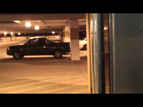 Glass Dover Traction Elevator @ The Sky Harbor Airport Parking Garage (Garage A)