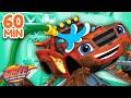 Blaze's Car Wash Surprise 1-11 Compilation | 1 Hour | Blaze and the Monster Machines