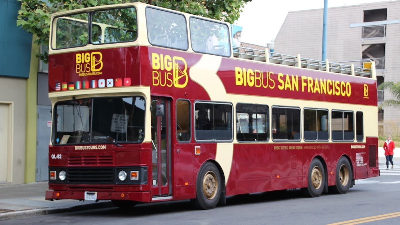 Part 1 Big Bus Tours San Francisco Ol 82 Leyland