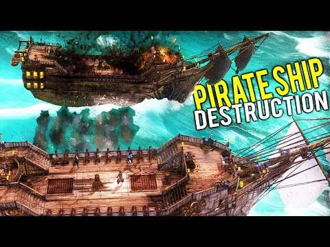 MANAGE YOUR OWN PIRATE SHIP and SINK MASSIVE PIRATE GALLEONS! - Abandon Ship Gameplay