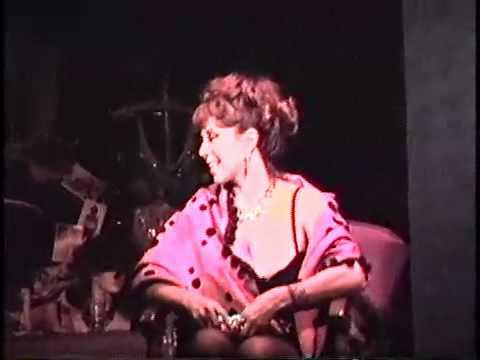 Annie Sprinkle au Club Soda, Montréal, 1983