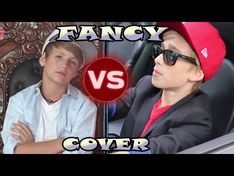 MattyBRaps VS Johnny Orlando (Iggy Azalea -Fancy - Cover)