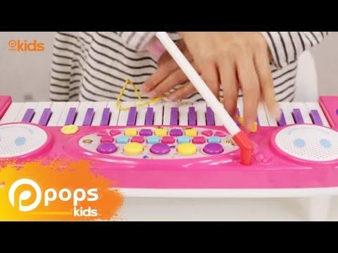 รีวิวของเล่นจากพี่ธิดา บาร์บี้บุรี : ชุดออแกน (Barbie Buri Toy review : Electronic Organ)