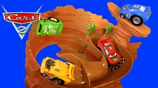 New Cars Rip-a-round Ridge Riplash Racers Willy's Butte Playset Disneypixarcars Track Set