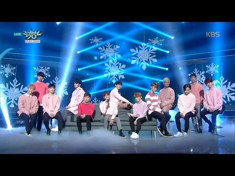 뮤직뱅크 Music Bank - 세븐틴 - 웃음꽃 (SEVENTEEN - Smile Flower).20161209
