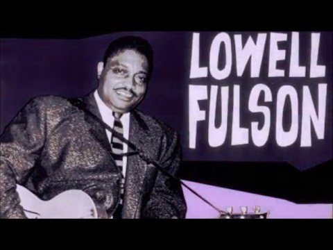 Lowell Fulson    ~   ''Blue Shadows'' & ''Going To Chicago''  Live 1980