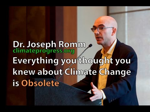 Climate Change Solutions : What you thought you knew is obso
