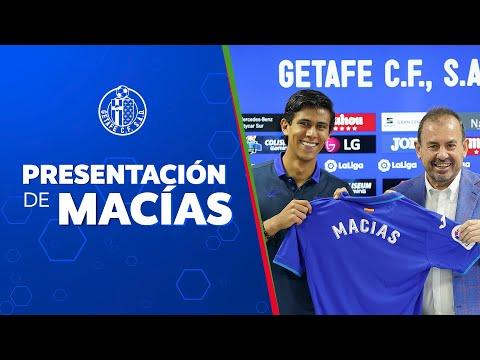 Macías, nuevo jugador del Getafe