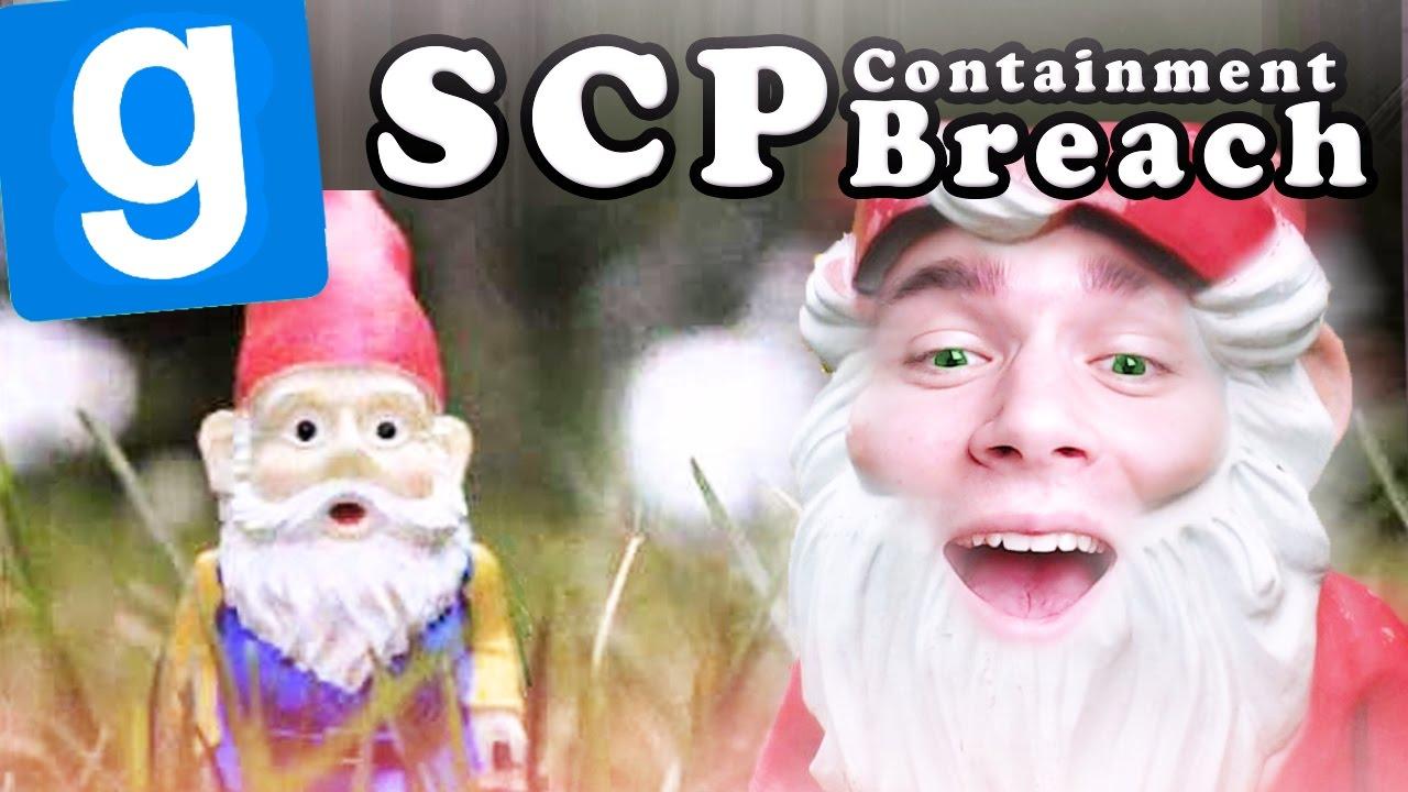 ZOSTAŁEM KRASNALEM OGRODOWYM! | SCP: Containment Breach [#56] Garry's mod #602 /W: EKIPA