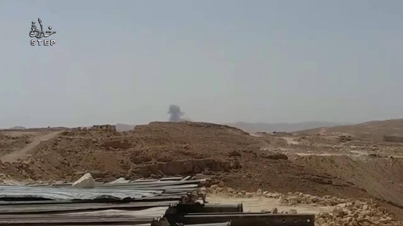 DAEŞ yine Suriye uçağı düşürdü -VİDEO