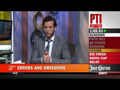 Tony Kornheiser predicting Darko Milicic will be better than LeBron James and Carmelo Anthony on PTI