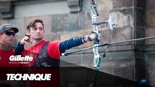 Perfecting Archery Technique with Zach Garrett | Gillette World Sport
