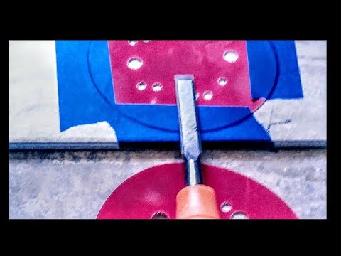 Home Renovation DIY How to Sharpen A Chisel quick and easy