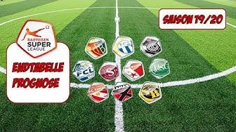 Fussball Tabelle Prognose für Super League Saison 19/20 l Deutsch