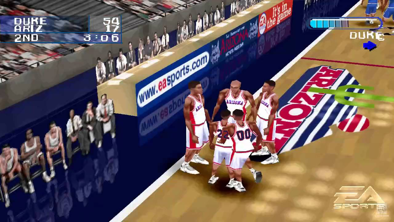 Ncaa March Madness 2001 Ps1 Gameplay Hd