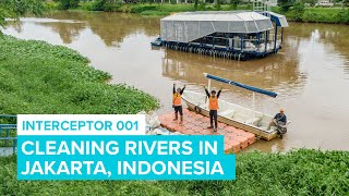 Cleaning River In Jakarta with Interceptor 001 | Cleaning Rivers | The Ocean Cleanup
