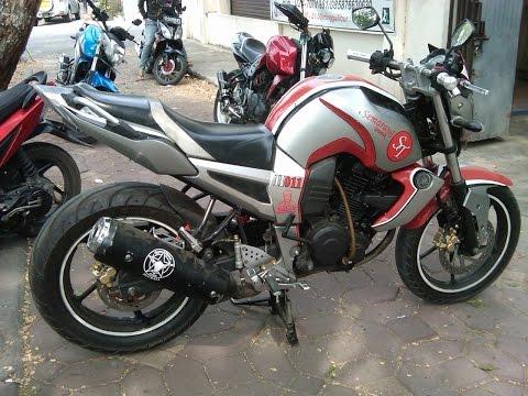 Cah Gagah | Video Modifikasi Motor Yamaha Byson Striping Keren Terbaru