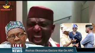 Download Video Rochas Okorochas Declare War On Buhari, Tinubu & Oshiomohole MP3 3GP MP4