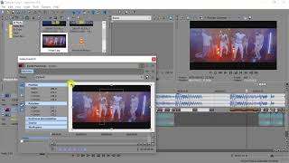 Sony Vegas Pro 4 DJs (Lesson 007 _How to make a reverb freeze frame)