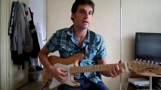 Le lac - Julien Doré - comment jouer tuto guitare YouTube En Français