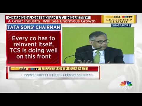 Tata Sons Chairman N Chandrasekaran On Forging Exclusive Interview @ HT Leadership Summit