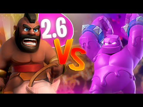 HOG 2.6 VS ELIXIR GOLEM - CLASH ROYALE