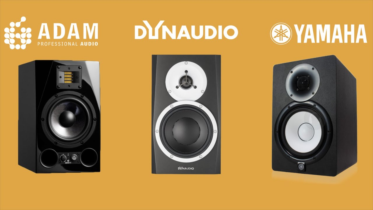 adam a7x vs dynaudio bm5mkiii vs yamaha hs7 review