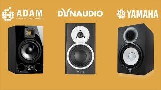 ADAM A7X vs Dynaudio BM5mkIII vs Yamaha HS7 Review Comparison
