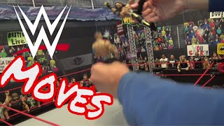 WWE Moves with Action Figures