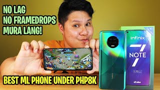 INFINIX NOTE 7 - BEST MOBILE LEGENDS PHONE UNDER PHP8K