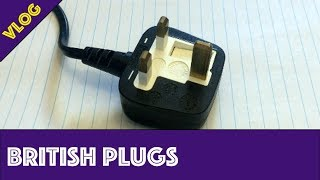 Comparing the British plug to the North American plug...