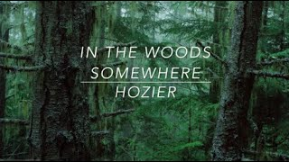 Hozier // In The Woods Somewhere (Lyrics)