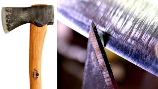 How To Sharpen Your New Axe