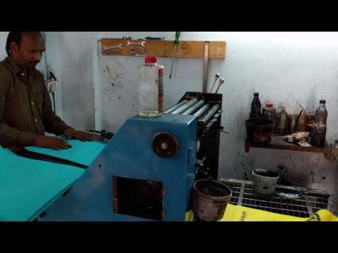 D cut non woven d cut bags printing machine