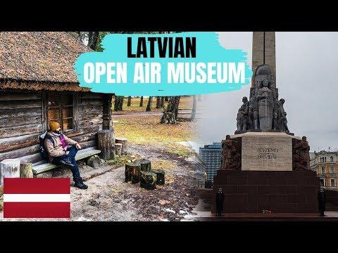 Riga, Latvia - Exploring the Amazing City | Latvian Ethnographic Open Air Museum