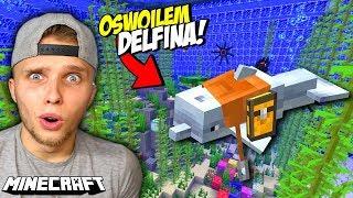 OSWOIŁEM DELFINA w Minecraft!