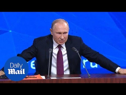 """Putin says Theresa May has to implement Brexit or """"is it democracy?"""""""