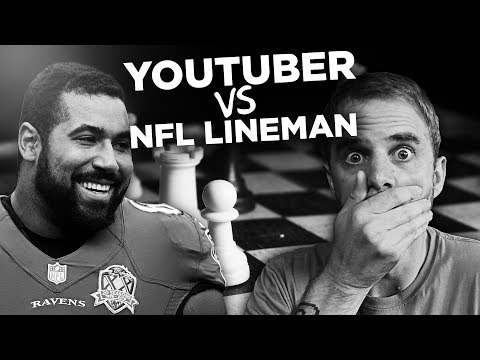 CHESS VS NFL LINEMAN/MIT STUDENT JOHN URSCHEL (Chess)