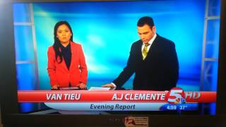 First Day KFYR News Anchor Blooper Fail  Bismarck North Dakota