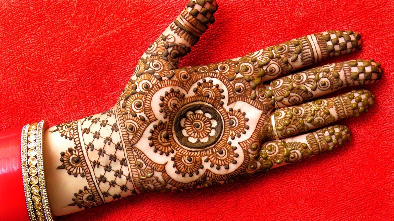 Bridal Mehndi Design #shorts