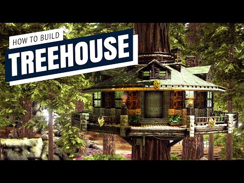 How To Build A Treehouse | Homestead S+ | Ark Survival