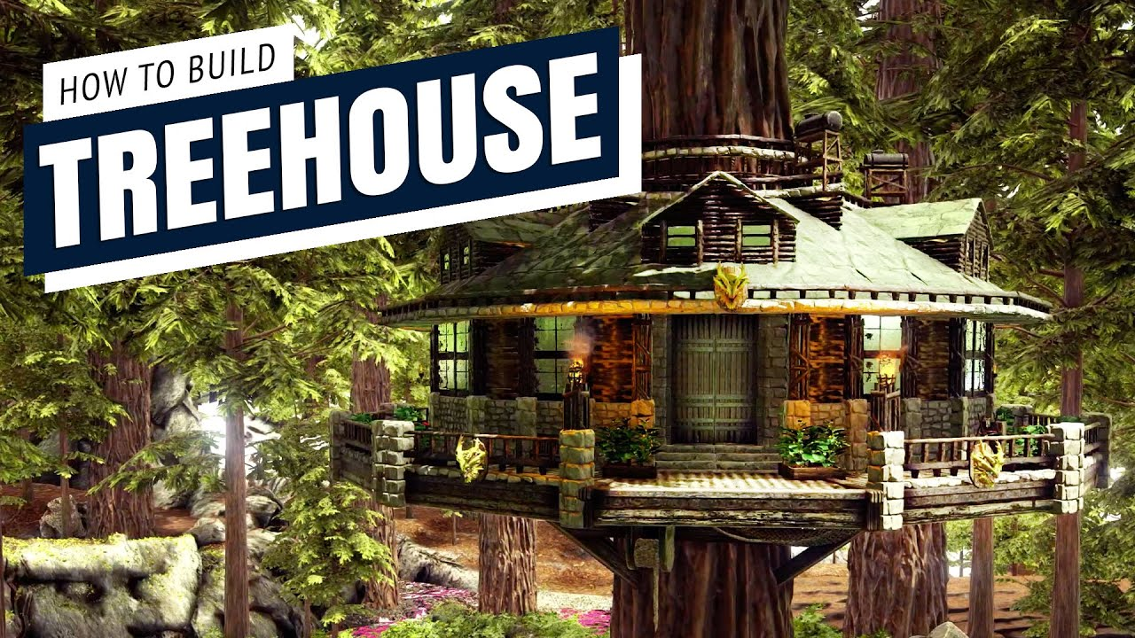 How To Build A Treehouse Homestead S Ark Survival Evolved