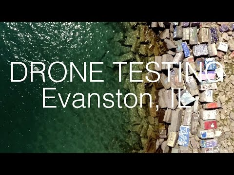 Skateboarding with DJI Drone in Evanston, Illinois