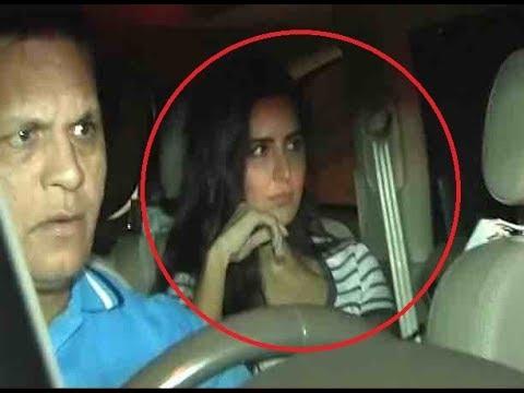 Former girlfriend Katrina Kaif reaches Galaxy Apartment to meet Salman Khan