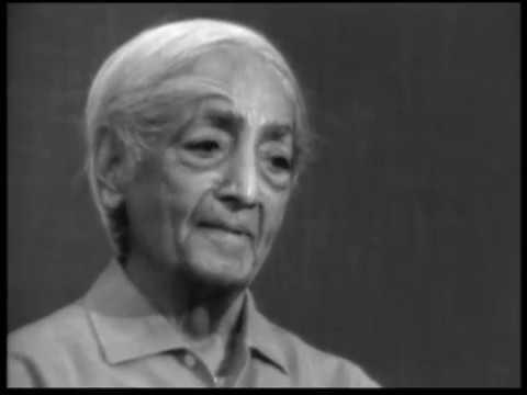 What is the future of mankind?   J. Krishnamurti