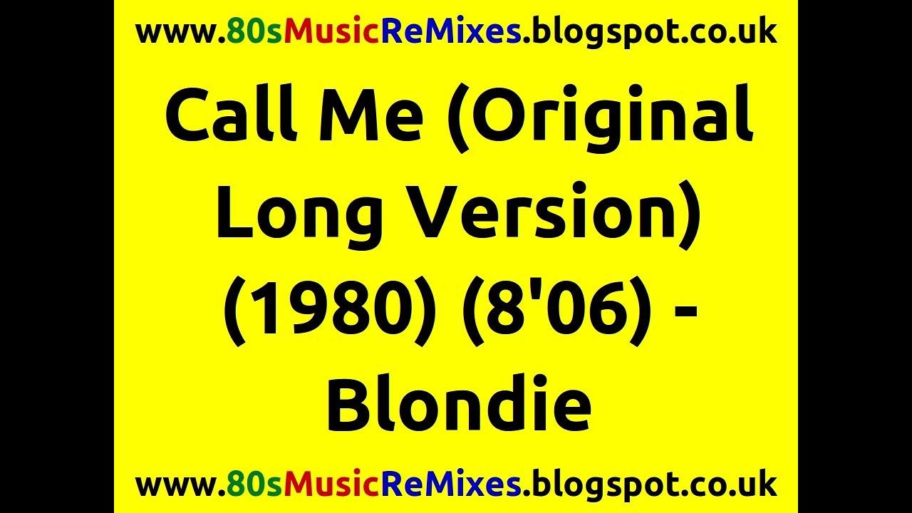 Download Call Me (Original Long Version) - Blondie | Giorgio Moroder | 80s Club Music | 80s Pop Music Hits