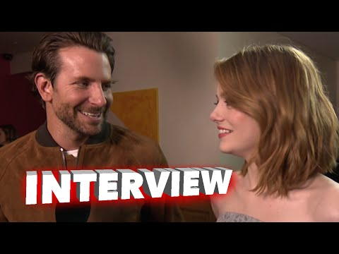 Aloha: Bradley Cooper & Emma Stone London Screening Premiere Interview